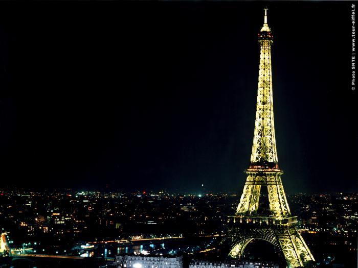 Tour Eiffel Wallpaper