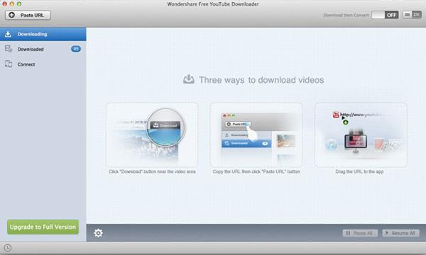 Wondershare Free AllmyTube Downloader