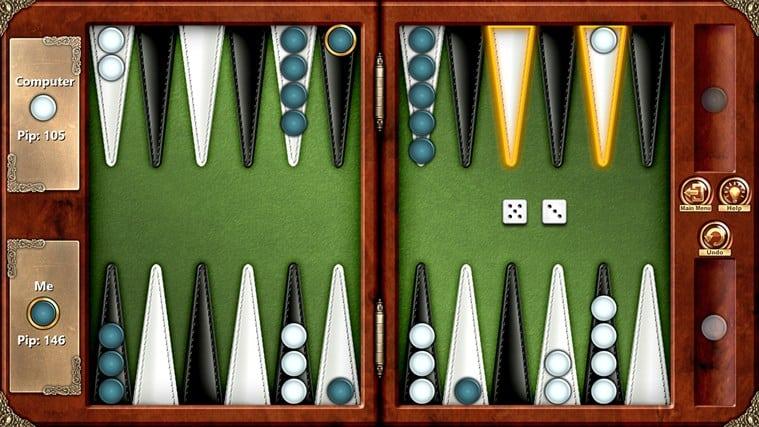 Backgammon Premium for Windows 10