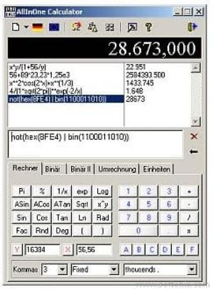 PmaCalc