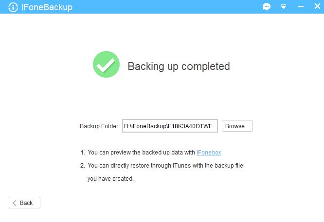 iFoneBackup