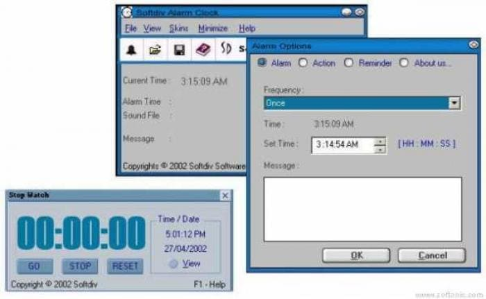 Softdiv Alarm Clock