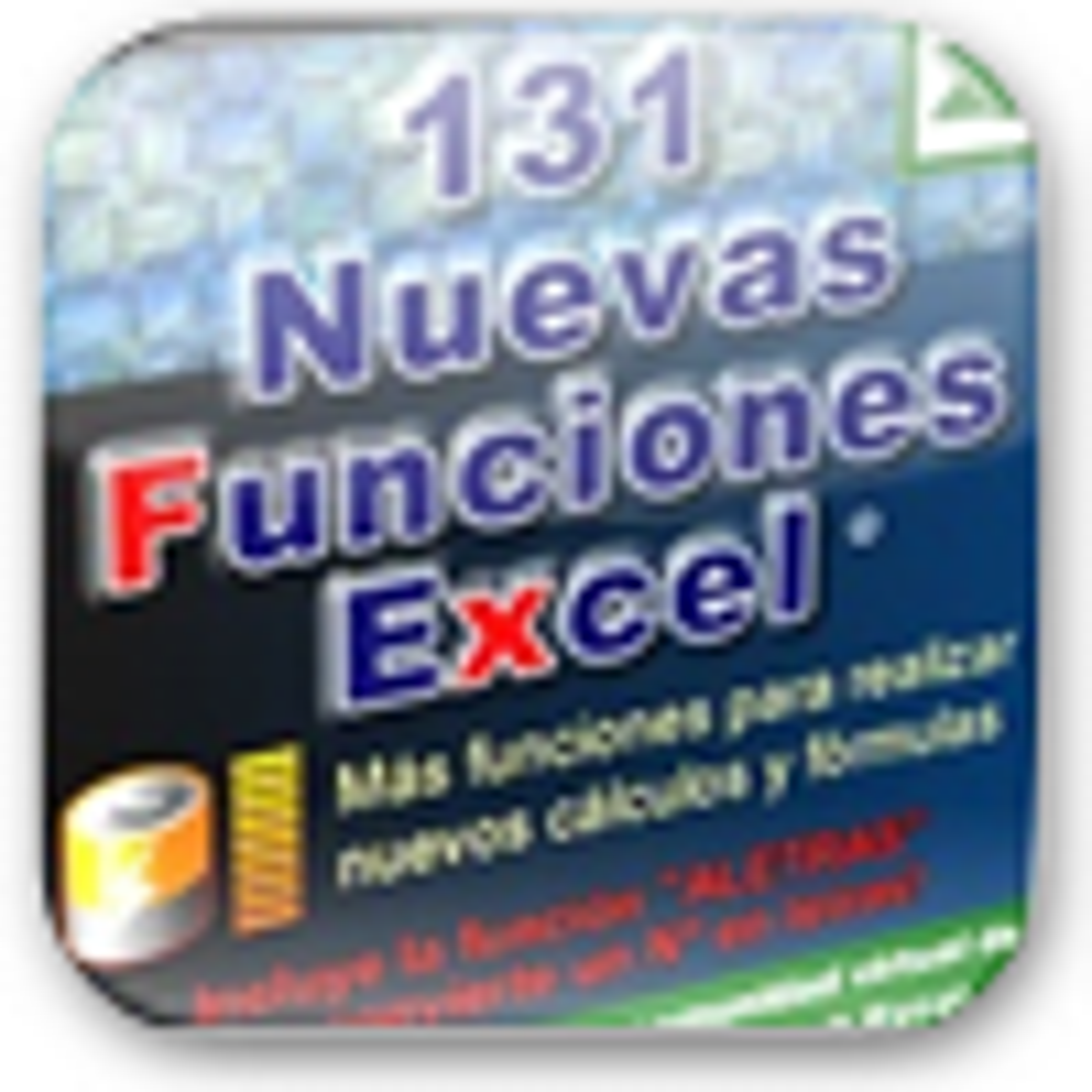 Nuevas Funciones Excel 1.0