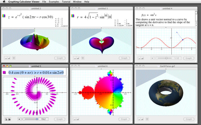 Graphing Calculator Viewer