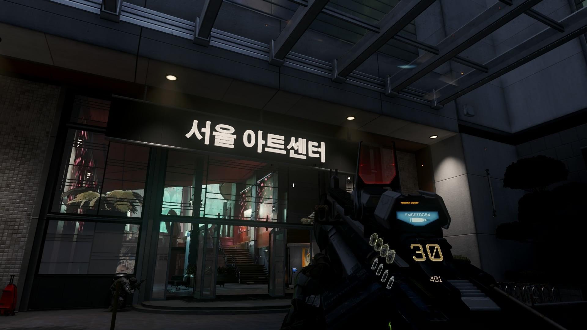 Call of Duty: Advanced Warfare est un jeu vidéo de tir à la première ..... marquer  des points, la dernière solution rapportant un nombre de points plus important.