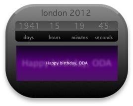London 2012 Widget