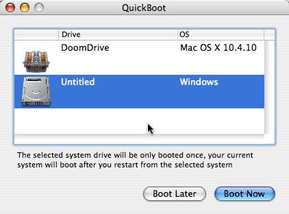 QuickBoot