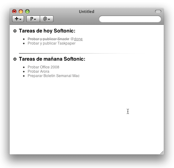 TaskPaper