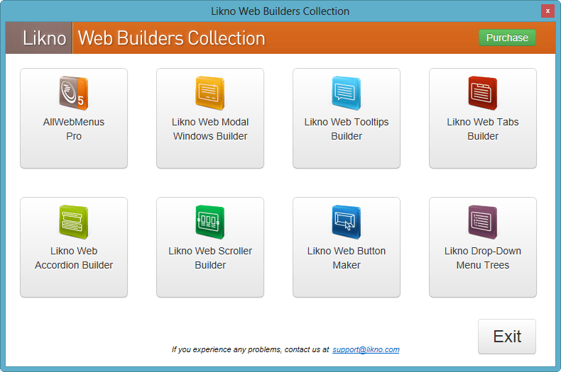 Likno Web Builders Collection