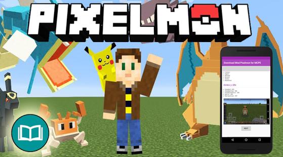 Download Mod Pixelmon MCPE
