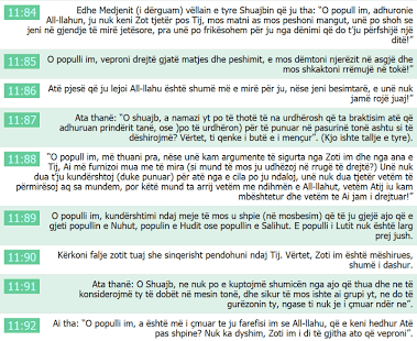 Quran Albanian