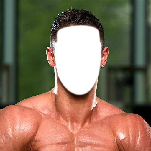 Body Builder Photo Montage