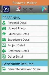 Free Resume Maker App