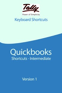 Tally & Quick Books Shortcuts