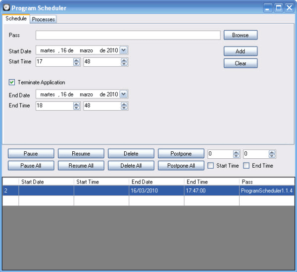 Program Scheduler 1.1.4