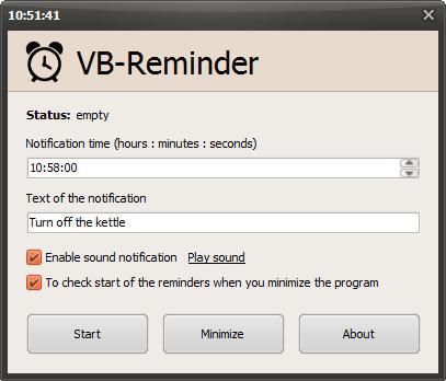 VB-Reminder