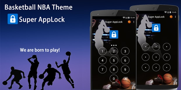 AppLock Theme Basketball