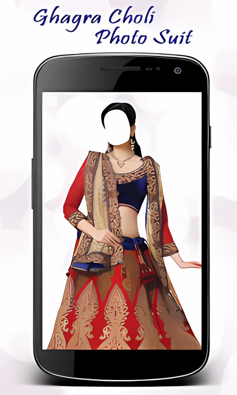 Ghagra Choli Photo Suit