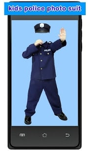 Kids Police Photo Suit