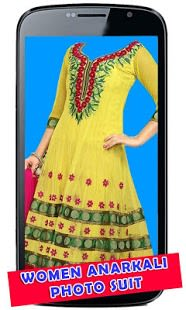 Women Anarkali Photo Suit
