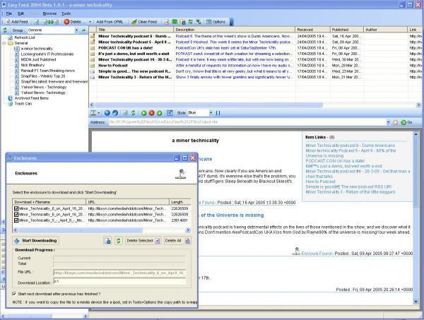 EasyFeed 2005