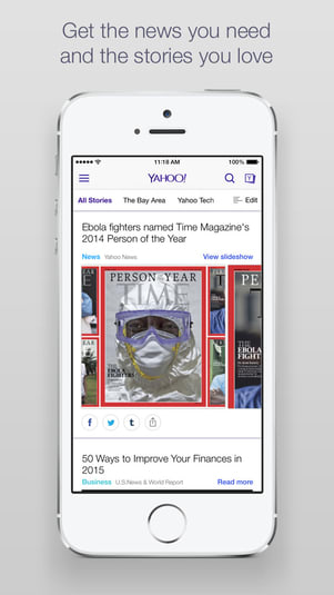 Yahoo for iphone download yahoo for ios is a news browser app that provides news and connects to the larger yahoo network the yahoo app uses summly technology to deliver short ccuart Gallery