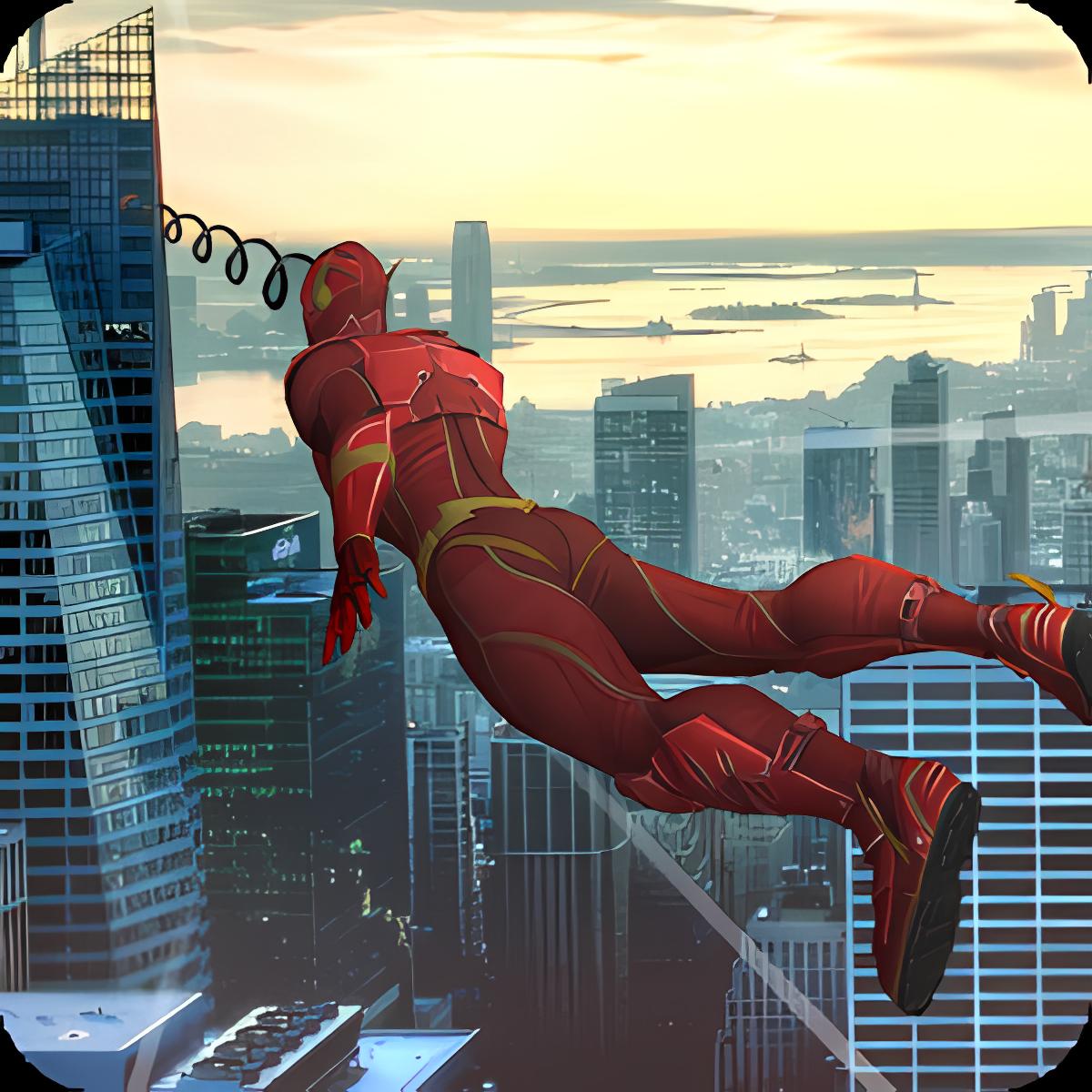 Best Rope Hero Grand City 1.0