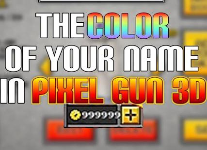 Cheats for Pixel Gun 3D