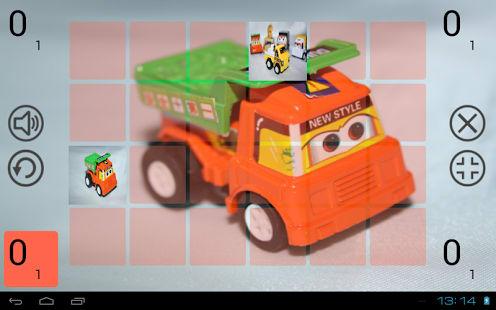 Speedy Cars memory game