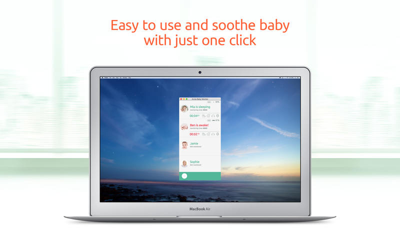 Baby Monitor by Annie Video and Audio Nanny Cam