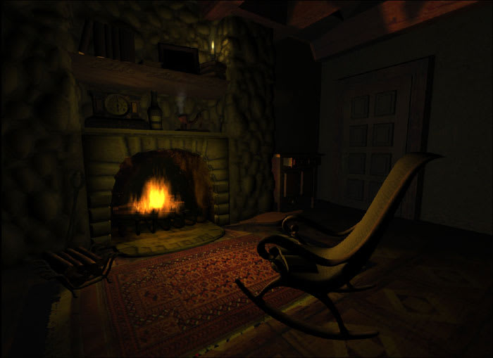 Fireplace – Animated Screensaver