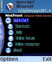 NetFront Web Browser