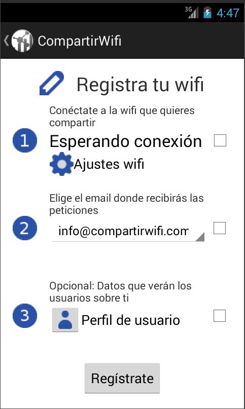 Compartir wifi: Conocer gente
