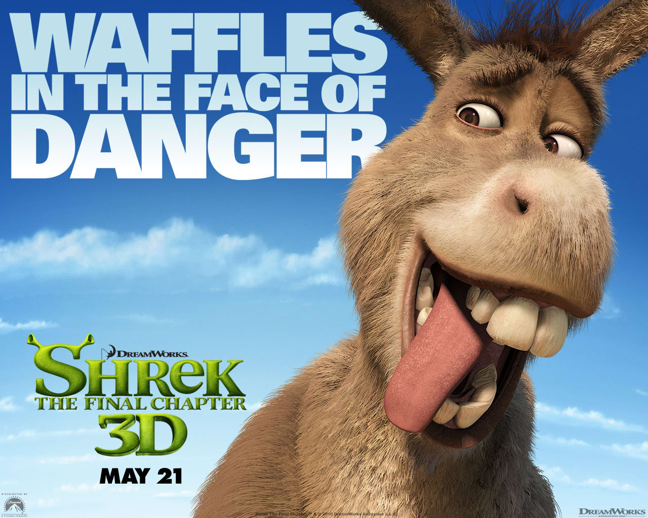 Shrek 4 Wallpaper: Donkey