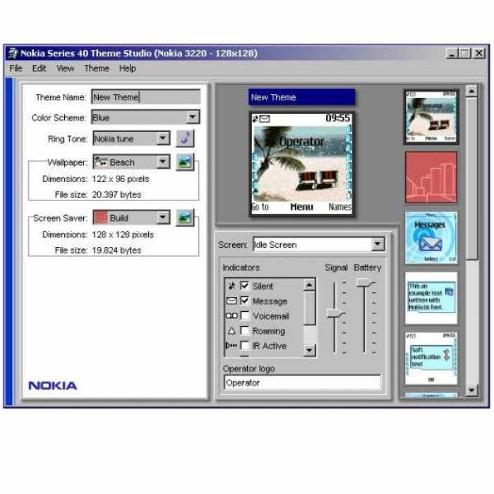 Nokia Series 40 Theme Studio