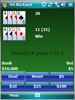 ISS Blackjack