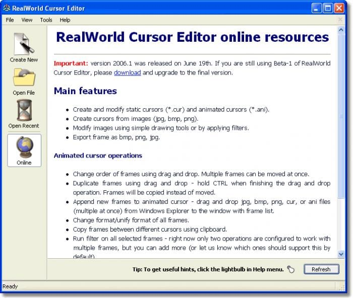 Idź do  RealWorld Cursor Editor