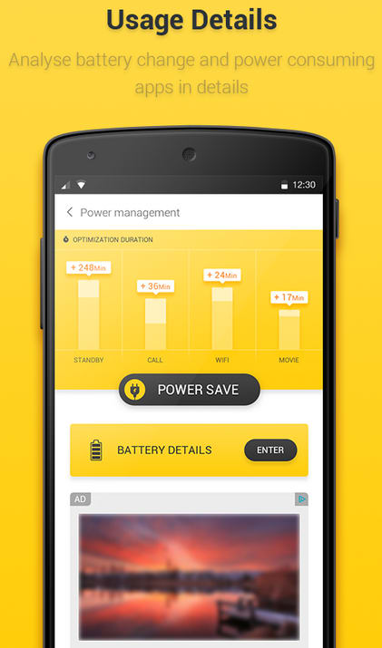 Yellow Battery