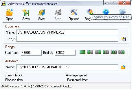 Advanced Office Password Breaker