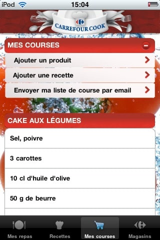 Carrefour Cook