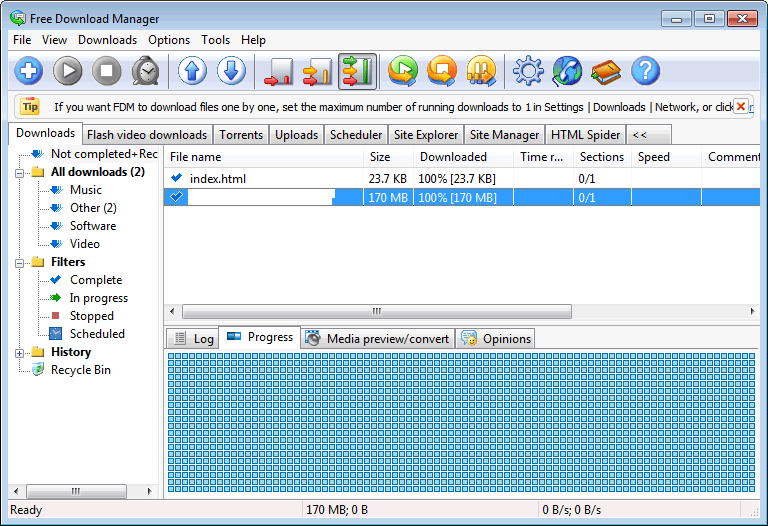 Free Download Manager Pros