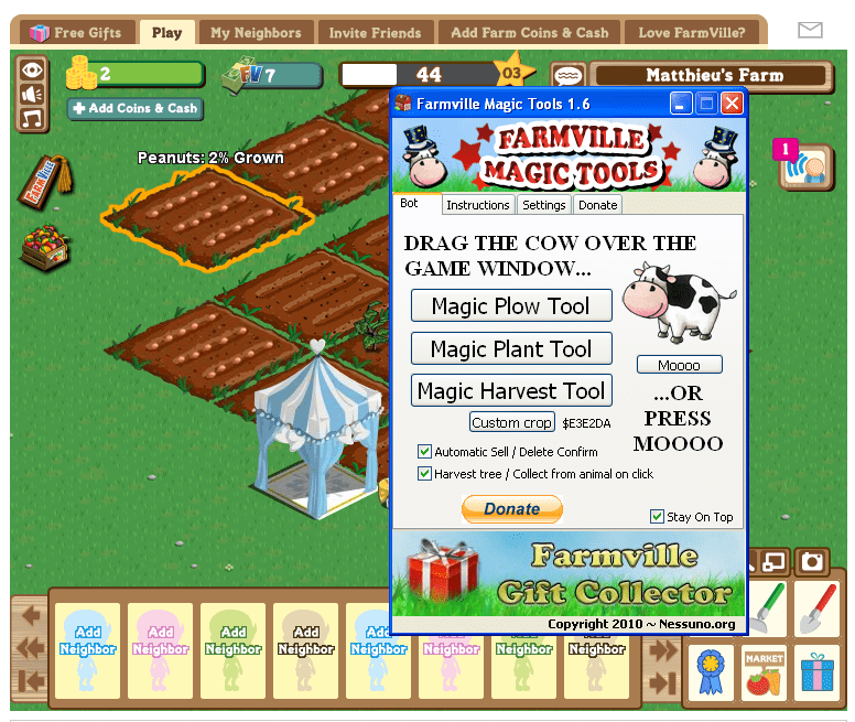 Farmville Magic Tools