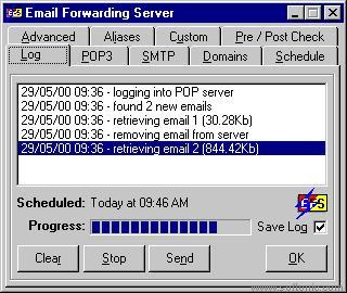 EFS (Email Forwarding Server)