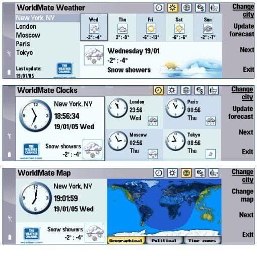 WorldMate for Series 80