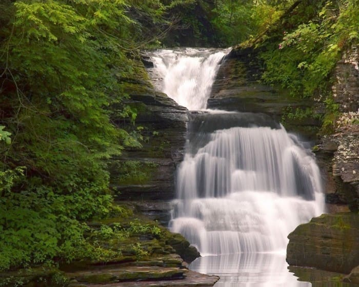 The Cascade Waterfall Screensaver