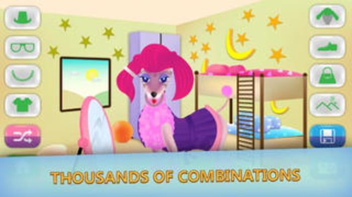 Dog dress up - Pet Shop Game for kids