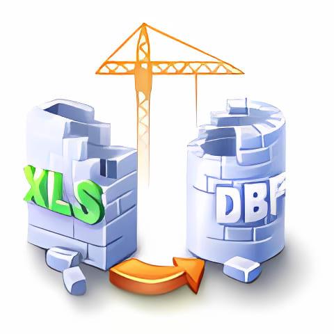XLS (Excel) to DBF Converter