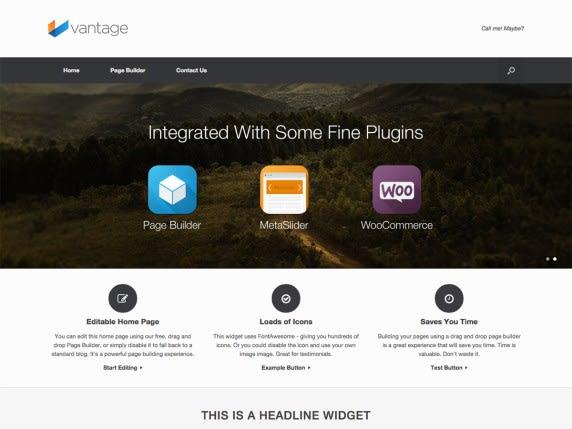 Vantage - Theme for Wordpress