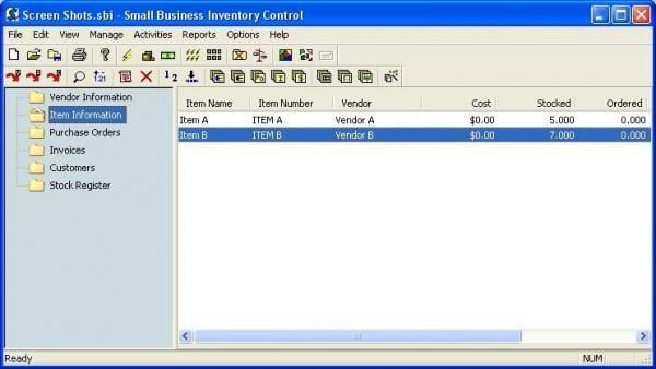 softonic review - Inventory Control Description