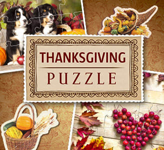 Holiday Jigsaw: Thanksgiving Day